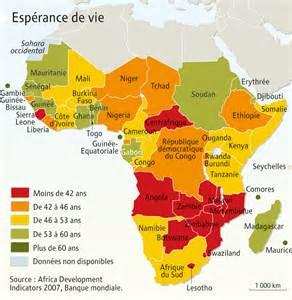 Espérance De Vie Usa by Afrique Subsaharienne Arts Et Voyages