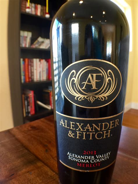 merlot fitch alexander wine
