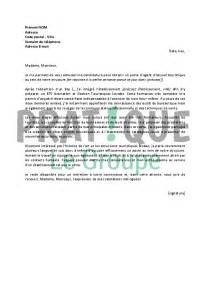 lettre de motivation pour un emploi d d accueil