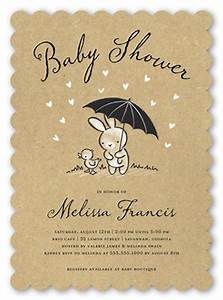 Bunny Shower 5x7 Baby Shower Invitation Cards Shutterfly