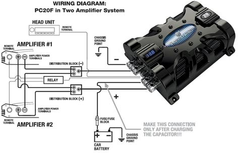 amazoncom planet audio pcf  farad capacitor car