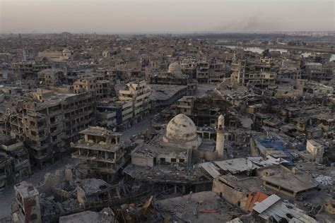 Islamic State was defeated. Now who will pay to rebuild ...