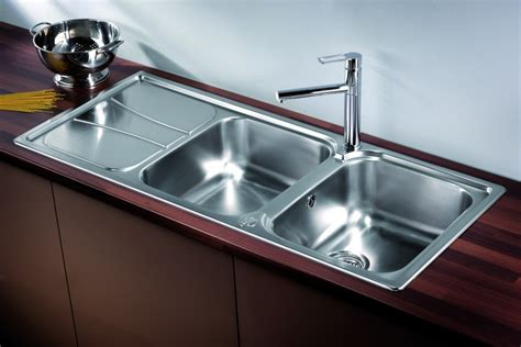 Undermount Sinks With Drainer stainless steel double bowl kitchen sink solutions taps