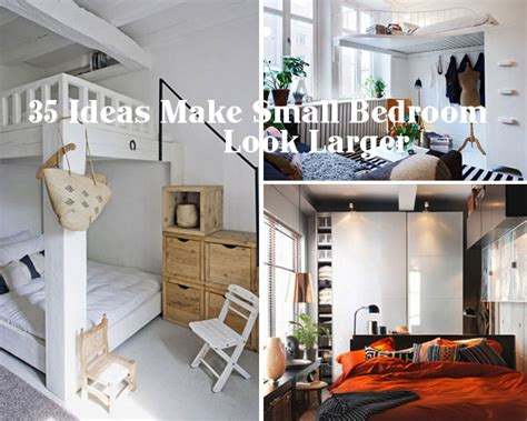Inspiring Ideas To Make Your Small Bedroom Look Larger