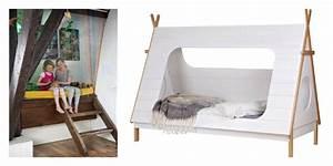 Lit Enfant Cabane : le lit cabane fille id es en images ~ Teatrodelosmanantiales.com Idées de Décoration