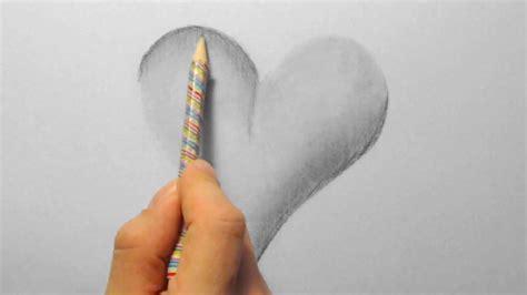 herz zeichnen im zeitraffer  heart drawing  fast