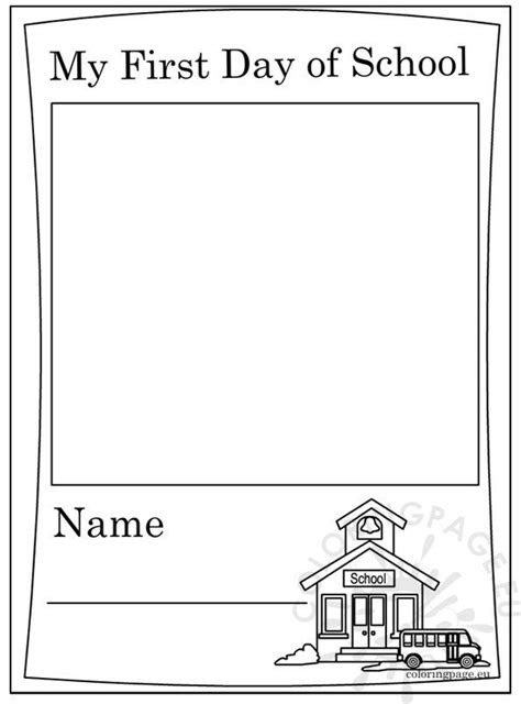 day  school coloring page
