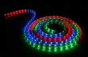 Led Strips Rgb : waterproof color chasing led light strips with multi color leds 5m copper finish ~ Frokenaadalensverden.com Haus und Dekorationen