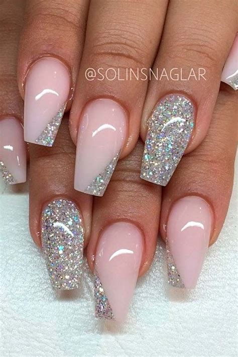 exquisite ideas  wedding nails  elegant brides