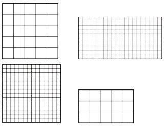 rechteck und quadrat
