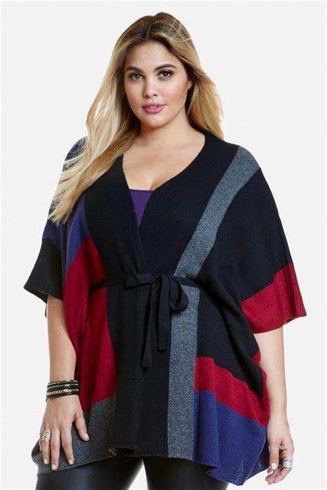 Plus Size Poncho | Wardrobe Mag