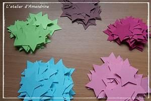 Comment Faire Une étoile En Papier : tuto guirlande toiles en papier l 39 atelier d 39 amandrine ~ Nature-et-papiers.com Idées de Décoration