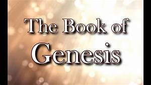 The Book Of Genesis  Niv Dramatized Audio Bible