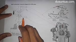 4g15 Carburetor - Egr Vacuum Diagram Part 1