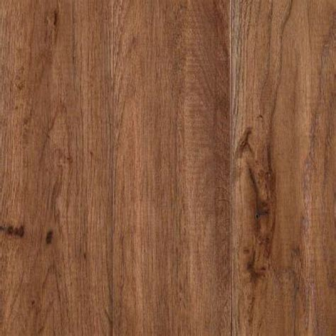 hickory solid hardwood flooring mohawk take home sle yorkville tanned hickory solid hardwood flooring 5 in x 7 in mo