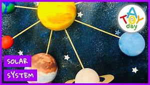 Solar System  Solar System Craft  Creative Science  8 Planets For Kids   Stayhome And Learn  Withme