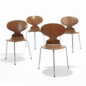 Arne Jacobsen Ant Chair : arne jacobsen ant chairs set of four ~ Markanthonyermac.com Haus und Dekorationen