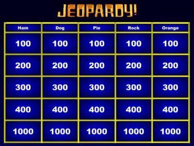 blank jeopardy powerpoint template rebocinfo