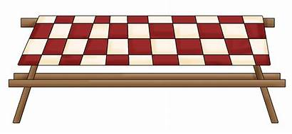 Picnic Table Transparent Clipart Background Clip Blanket