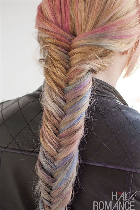 Hairstyle Tutorial How To Do A Fishtail Braid Hair Romance