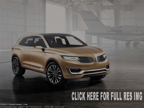 lincoln mkx redesign  upgrade  auto suv