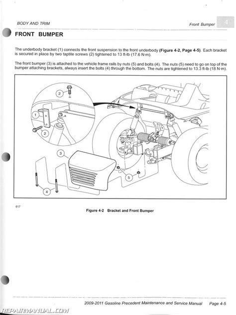 Club Car Manual Wire Diagram by 2011 Ezgo Rxv Wiring Diagram Circuit Diagram Maker