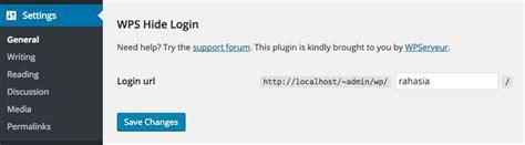 Cara Mengganti Url Wp-admin Dan Wp-login Di Wordpress