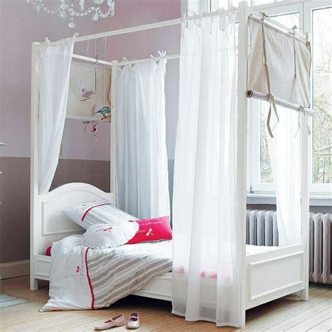 le lit baldaquin enfant comment faire la d 233 co pour la