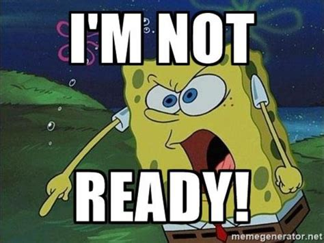Spongebob I'm Ready Blank Template