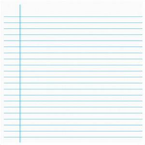 best photos of notebook paper template for word loose With notebook paper template for word 2010