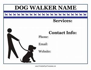 flyer for dog walker With dog walking flyer template free