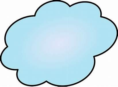 Cloud Cartoon Clipart Clip Clouds Transparent Cliparts