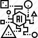 Ai Icon Icons Template Robot Technology App