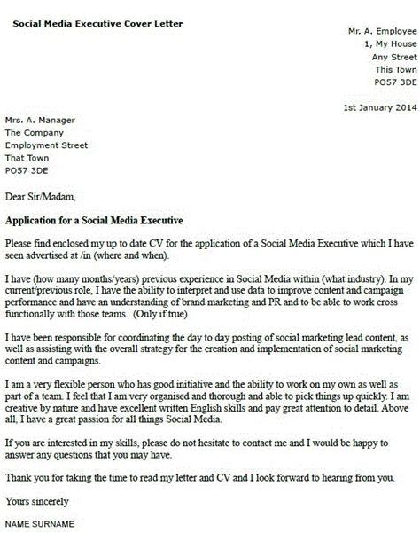 covering letter  media job covering letter