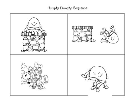 preschool sequencing games more with nursery rhymes humpty dumpty literacy 392