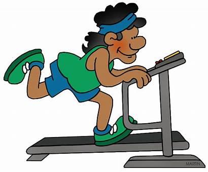 Treadmill Clipart Metabolism Clip Exercising Transprent Martin