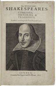 Shakespeare Collection Highlights   Folger Shakespeare Library