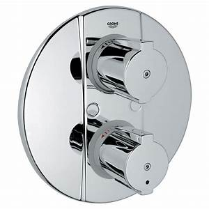 Grohe Grohtherm 2000 : grohe grohtherm 2000 special thermostatic shower mixer trim ~ Frokenaadalensverden.com Haus und Dekorationen