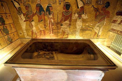 chambre secrete le tombeau de toutankhamon recèlerait deux chambres
