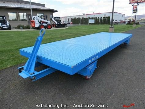 Heavy Duty Warehouse Industrial Material Cart Trailer 7000
