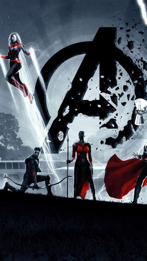 wallpaper avengers endgame captain america thor