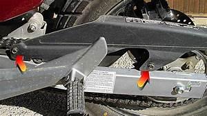 Honda Shadow 125 Vitesse Max : r glage et tension de la chaine un peu de moto et ~ Nature-et-papiers.com Idées de Décoration