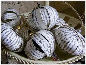 Pinterest Deco Noel Recup : boules de no l en papier r cup recycling paper to make ~ Zukunftsfamilie.com Idées de Décoration