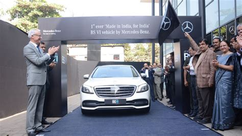 Mercedes-benz Bs Vi Car Launched In India; Assures Better