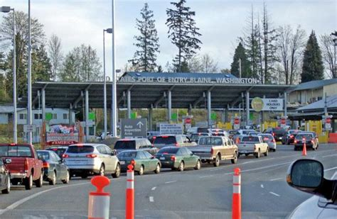 cross border traffic  canada surges  early  nw