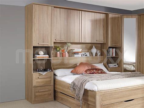 chambre à coucher pont de lit pont de lit riga 160 cm sonoma sans fond chez mobistoxx
