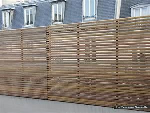 Panneau Brise Vue Composite : brise vue la terrasse nouvelle ~ Nature-et-papiers.com Idées de Décoration