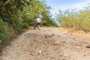 Dirt Road In The Mountains  Honduras Stock Photo
