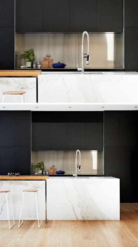 backsplash kitchen tiles kitchen design idea install a stainless steel backsplash 1433