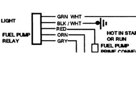 Chevy Truck Fuel Supply Wiring Electrical Problem